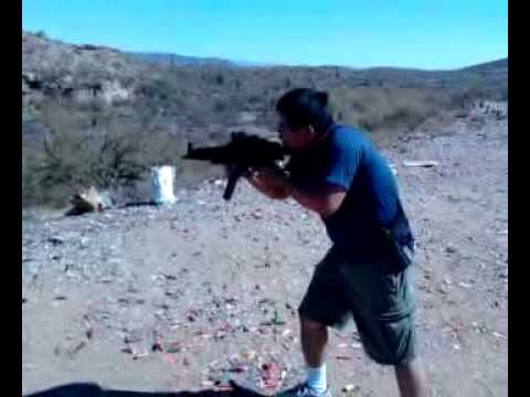 Testing Bellator Armaments SP89k clone in Full Auto (IV)