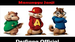 Andra Respati & Ovhi Firsty - Manunggu Janji -   Version Chipmunks