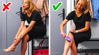 SIMPLE YET GENIUS BODY TRICKS THAT MIGHT SAVE YOU THE TROUBLE