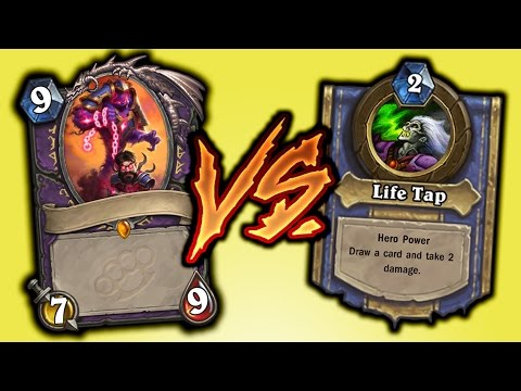 Does Life Tap Limit Warlock Cards? - Hearthstone