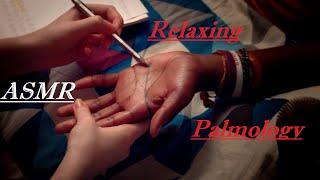 ASMR | Palm Reading, Palmology Relaxation | Tracing, Brushing, Soft Spoken + More screenshot 5