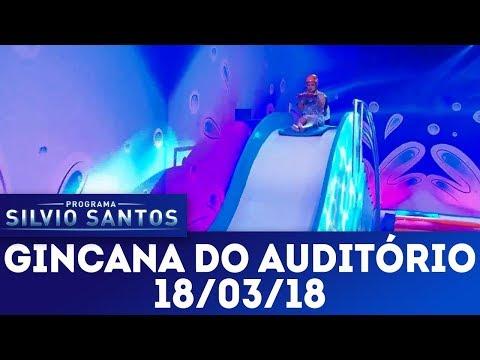 Gincana do auditório | Programa Silvio Santos (18/03/18)