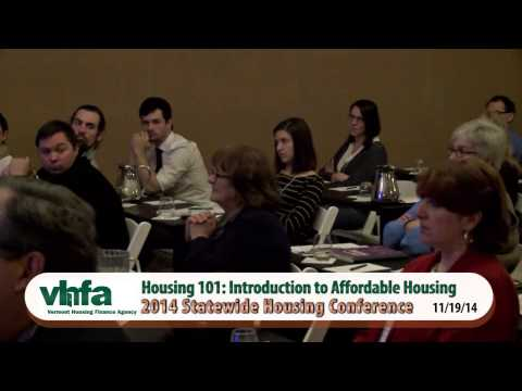 Housing Conference: Introduction to Affordable Housing