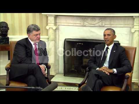 DC:OBAMA MEETS WITH UKRAINE PRES POROSHENKO
