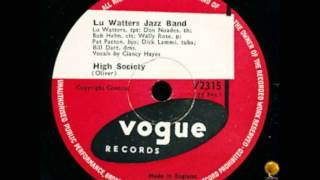 High Society - Lu Watters Jazz Band
