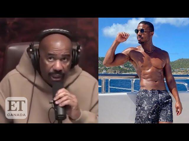 Steve Harvey Reacts To Michael B. Jordan Dating His Daughter