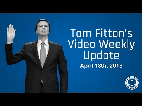 JW Pres. Tom Fitton Reacts to Raid on Trump Atty-Comey's New Book-Obama/Syria-NEW Rpt. on McCabe/FBI