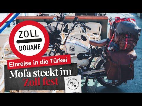 Mofa steckt im Zoll fest | beschwerliche Einreise in die Türkei