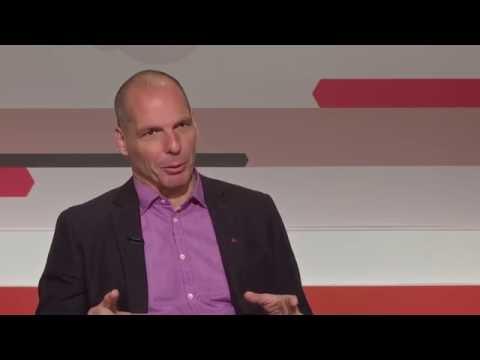 Yanis Varoufakis interviewed in Barcelona