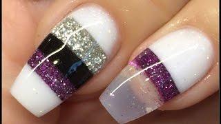 Nails tutorial blocking technique acrylic design #notpolish