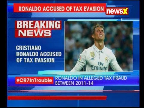 Cristiano Ronaldo accused of 14.7 million Euro tax evasion after Spanish prosecutors filed a lawsuit