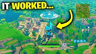 I Tried Glitching To OLD Map.. (Fortnite Chapter 2)