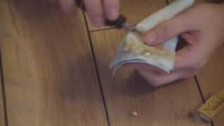 видео Как заделать дырку в линолеуме
