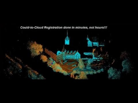 Leica Cyclone 9.0 Point Cloud-to-Cloud Registration