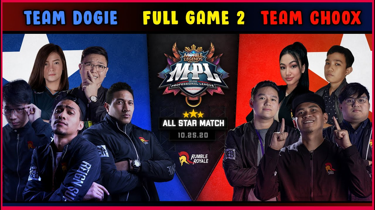 DOGIE VS CHOOX - GAME 2 PROTECT THE CAPTAIN | MPL ALLSTARS S6 2020