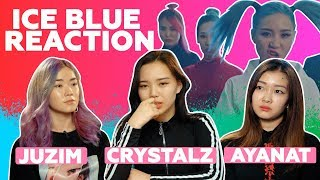 Juzim, Ayanat & Crystalz   Ice Blue - The Mask   Reaction