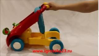 Машинка-ходунок 2 в 1 с рулем ELC2, прокат детских товаров Краснодар(, 2017-01-07T21:28:05.000Z)