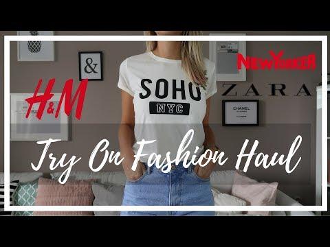 XL Try On Fashion Haul September 2017   Zara, H&M, New Yorker   Herbstkollektion   Viva Naomi