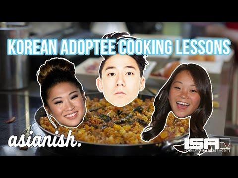 Growing Up on Asian Food Vs American Food!? wJenna Ushkowitz DANakaDANSam Futerman ASIANISH EP2