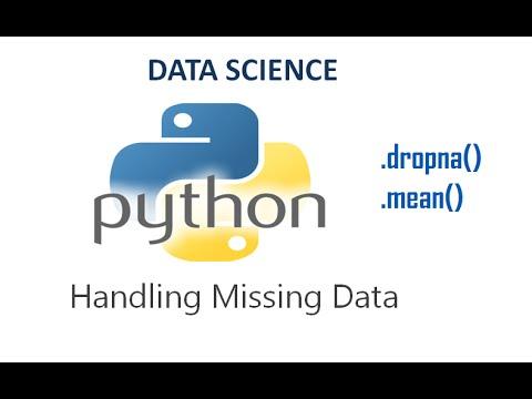 Handling Missing Values- Pandas   Python for Datascience Tutorial