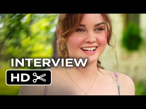 The Best Of Me Interview - Liana Liberato (2014) - James Marsden Romance Movie HD