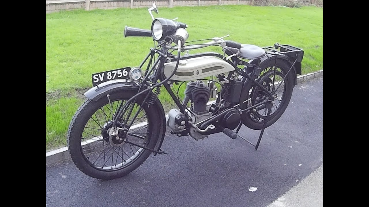 triumph model p - 1925 - youtube
