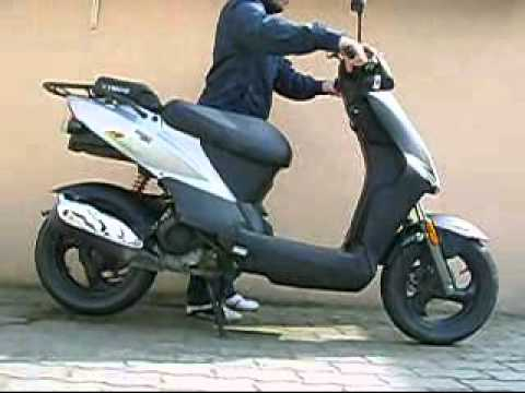 kymco agility 50 4t 2008 youtube. Black Bedroom Furniture Sets. Home Design Ideas