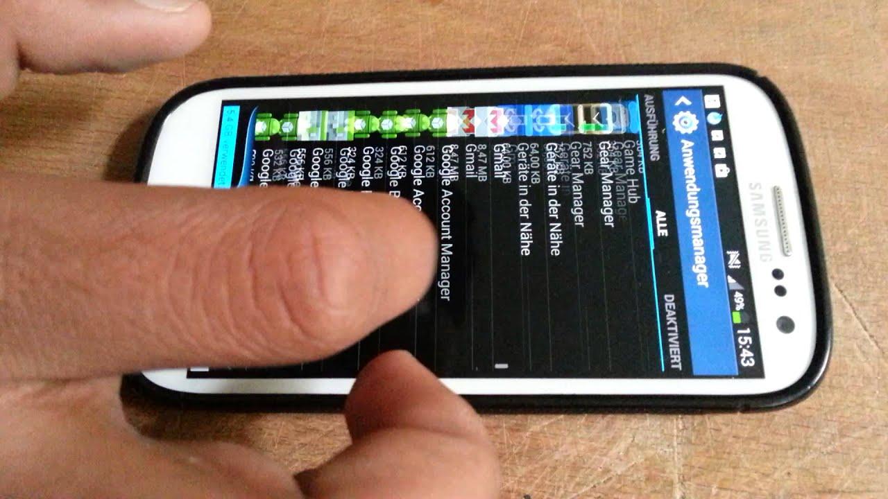 samsung galaxy s3 download funktioniert nicht mehr