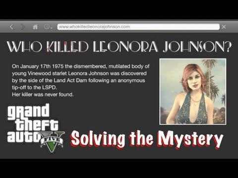 GTAV - Leonora Johnson Mystery Solved!