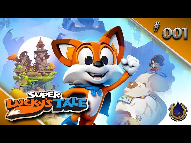 LUCKY, UNSER HELD! 🍀 Let's Play SUPER LUCKY'S TALE #001