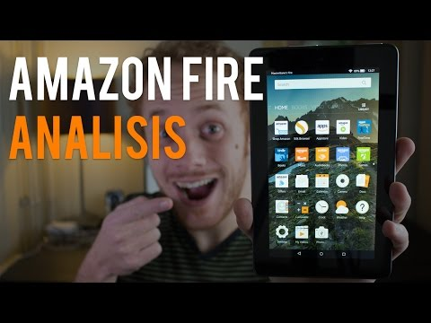 Amazon Fire, la tablet de USD 50 - Análisis en español