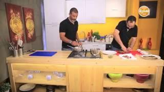 تحدي الطبخ بدون سكينة | القبطان والدكتور| الحلقة الثالثة
