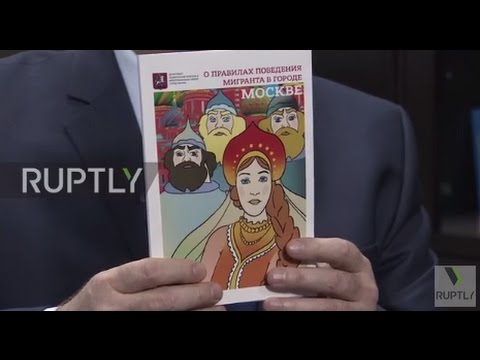 Russia: Moscow authorities release migrant workers' guidebook