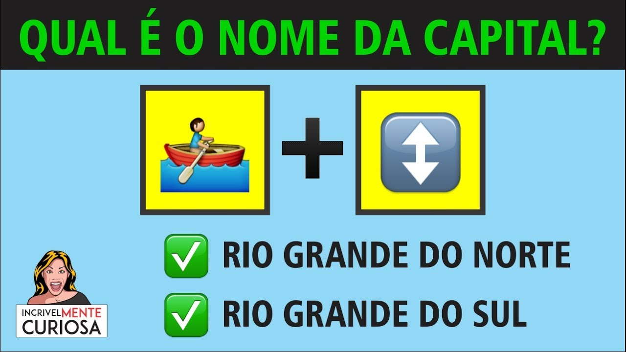 Adivinhe Com Emojis As Capitais Do Brasil Youtube