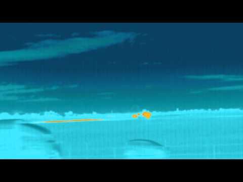 サーモグラフィで見るF/A18戦闘機の離陸