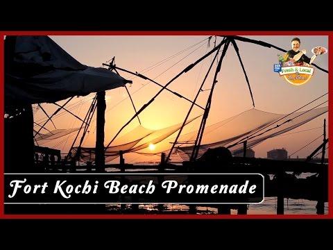 Fort Kochi Beach Promenade | Famous Market in Kerala | Vicky Ratnani