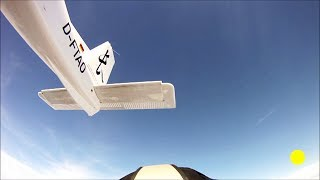 Repeat youtube video Dark Flight: meteorite passing skydiver (full version, edited)
