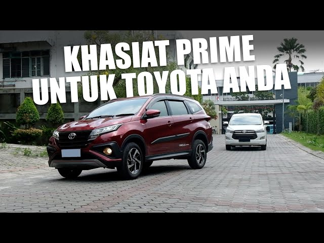 PRIME Suspension Dipakai Mobil Toyota