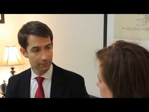 Marjorie Dannenfelser Interviews Senator Tom Cotton (Full Interview)