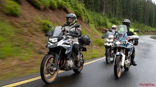 F850GS vs. Africa Twin vs. Tiger 800 | 2018 MY Comparison Review - Part I