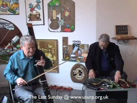 Max Eastley, Steve Beresford & Lol Coxhill. The Last Sunday at Usurp Art Gallery.