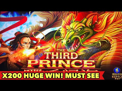 ⭐️HUGE WIN⭐️THE THIRD PRINCE - I GOT THEM ALL!! LOVE IT! HOLD ON TO YOUR HAT SLOT BONUS