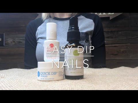 Easy Dip Nails with ASP QUICK DIP