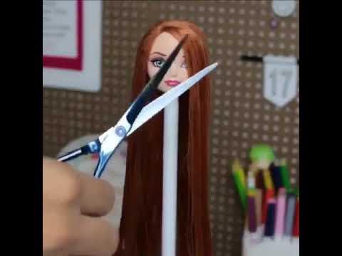 Barbie Saç Makyaj Yapımı