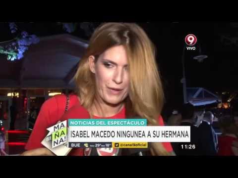 La gélida respuesta de Isabel Macedo cuando contestó por qué su hermana no fue invitada a su boda 1