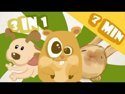 NURSERY RHYMES Three nursery songs in the same video.