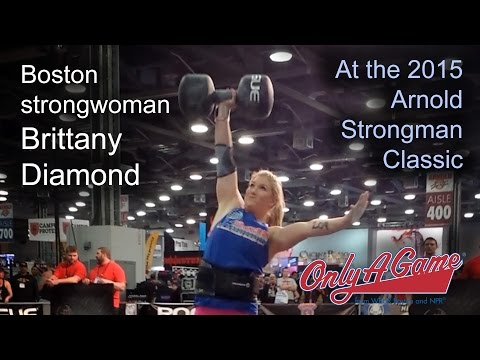 Brittany Diamond at the Arnold Strongman Classic