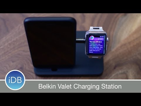 Belkin Valet Justifies its Price w/ an Integrated Lightning Cable & Charging Puck