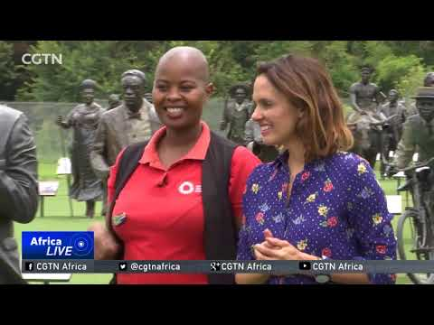 South Africa unveils monument to honour freedom fighters