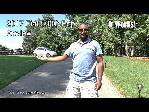 2017 Fiat 500C Pop Review - It Works!*